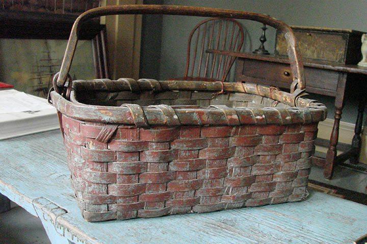 Antique Splint Basket